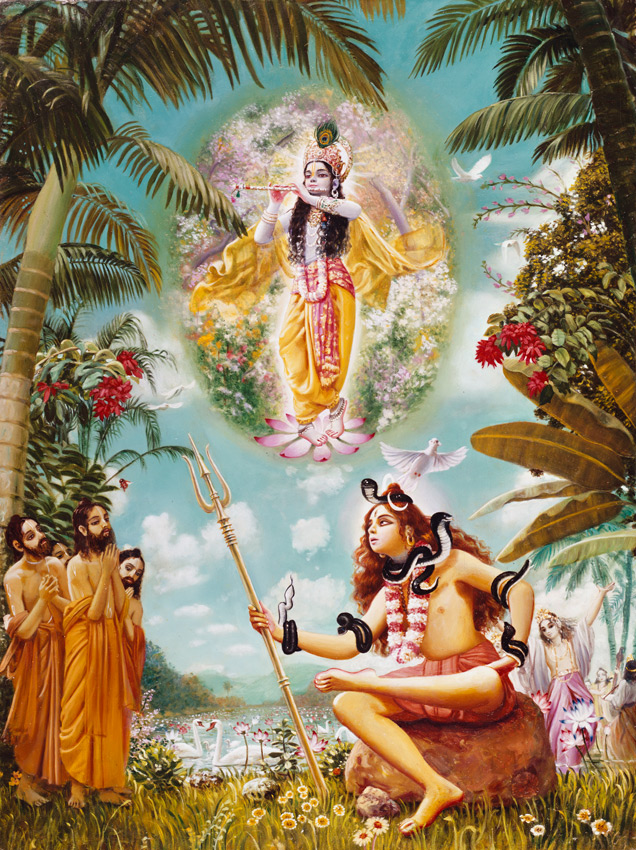 Devotees of Lord Krishna are dear to Lord Shiva