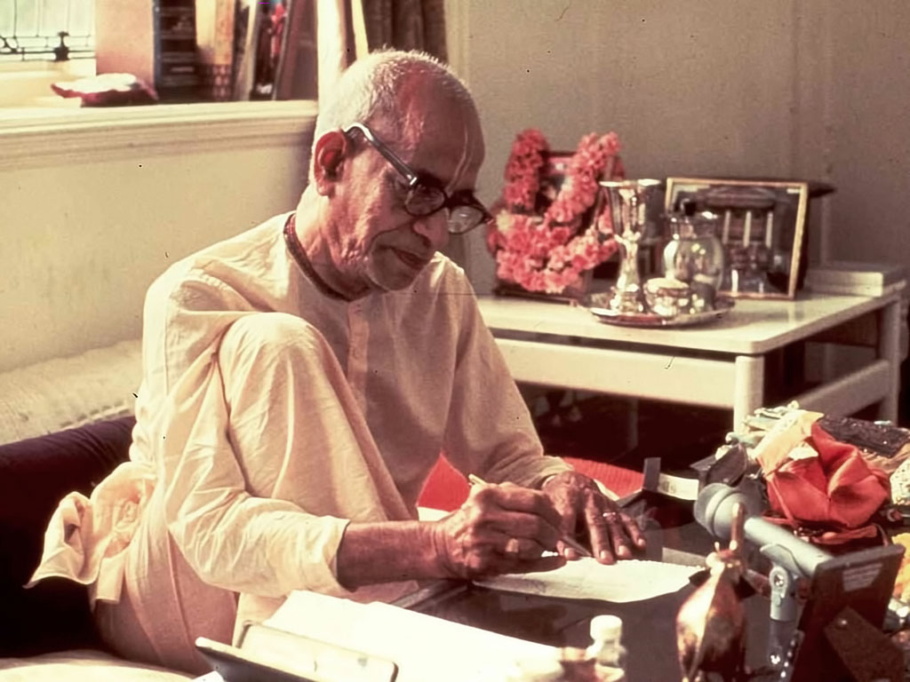 """SRILA PRABHUPADA'S LETTER TO THE PRESIDENT OF UNITED STATES"""